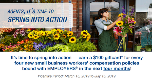 EMPLOYERS: $100 Spring into Action Incentive