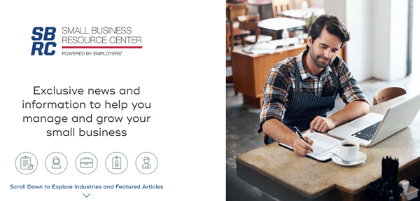 EMPLOYERS: The Small Business Resource Center Now Available