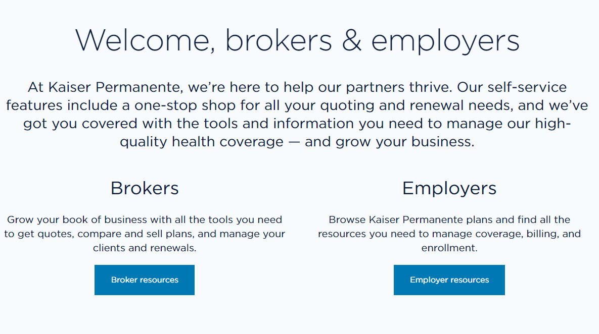 Kaiser Rolls Out A New, Upgraded Online Experience For Employers & Brokers