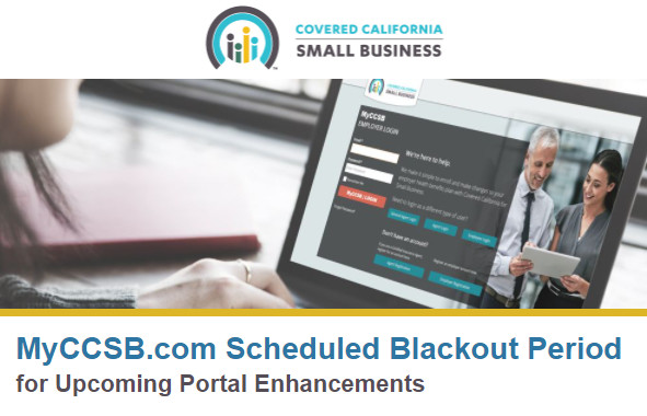 MyCCSB.com Scheduled Blackout Period for Upcoming Plan Enhancements