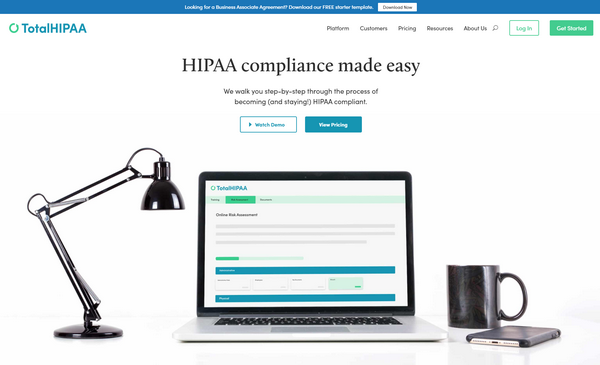 Need a Business Associate Agreement? TotalHIPAA has you Covered!