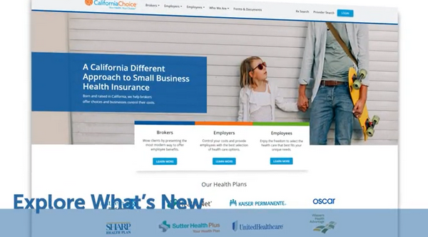 The New CalChoice.com is Here!